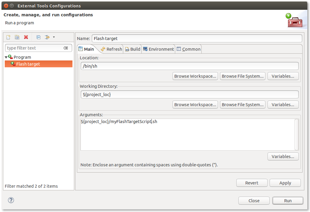 Finally the right Eclipse project configuration!